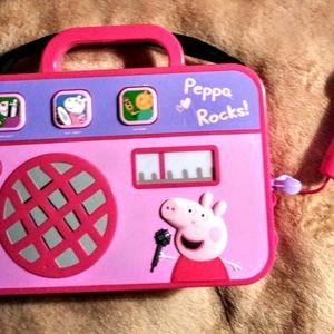 PEPPA ROCKS! SING ALONG MACHINE WITH MICROPHONE